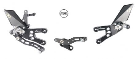 LighTech Honda CBR600RR 07-16 Adjustable Rearsets